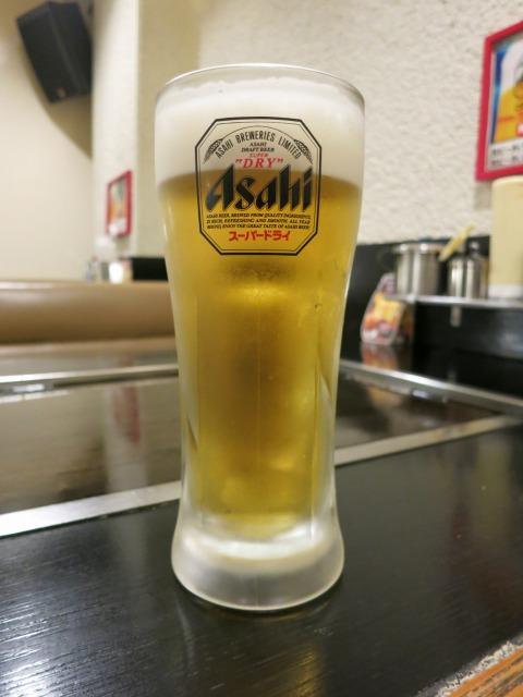 中生ビール 480円