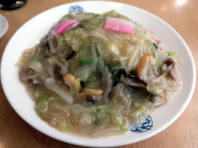 皿うどん(細麺) 850円