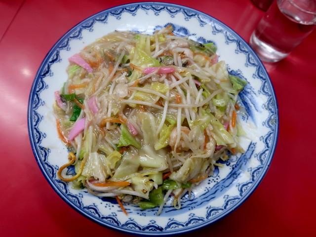 長崎皿うどん(太麺) 850円