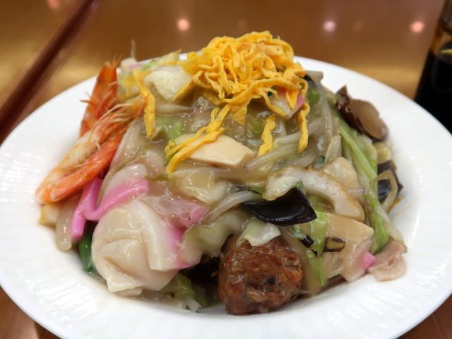 特製皿うどん(細麺) 1600円
