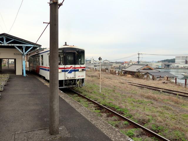 松浦鉄道 相浦駅