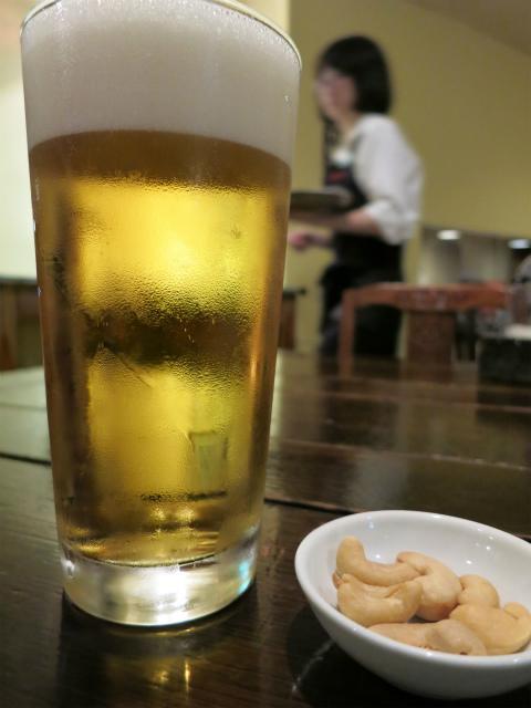 生ビール(中) 520円