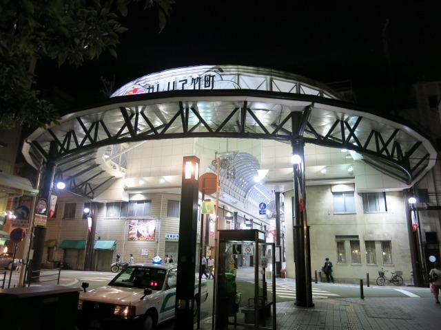 ガレリア竹町 アーケード街