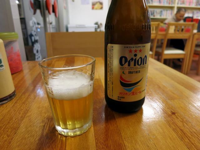 オジー自慢のオリオンビール♪