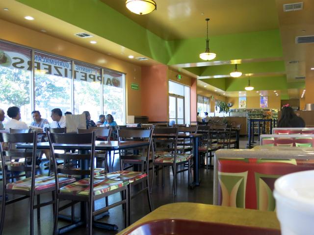 Guatemalteca Bakery Restaurant, 店内の様子