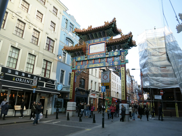 China town, Soho, London