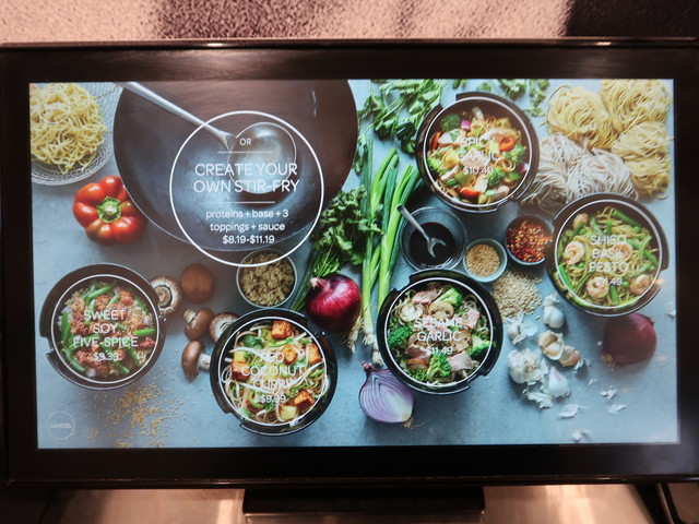 honeygrow 端末のUI