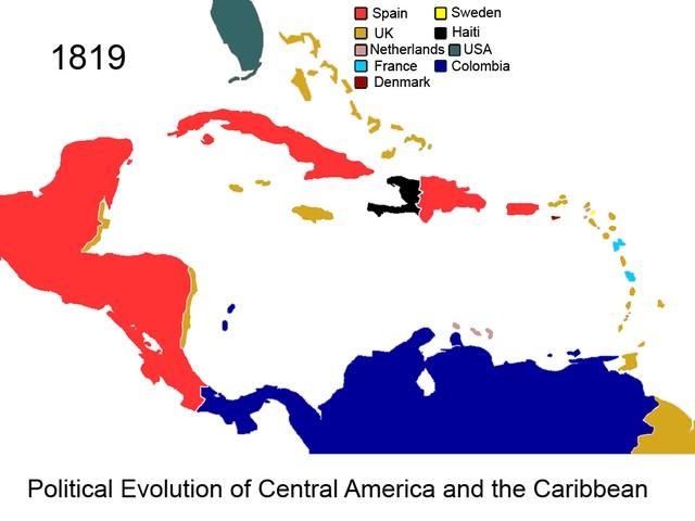カリブ海の植民地時代