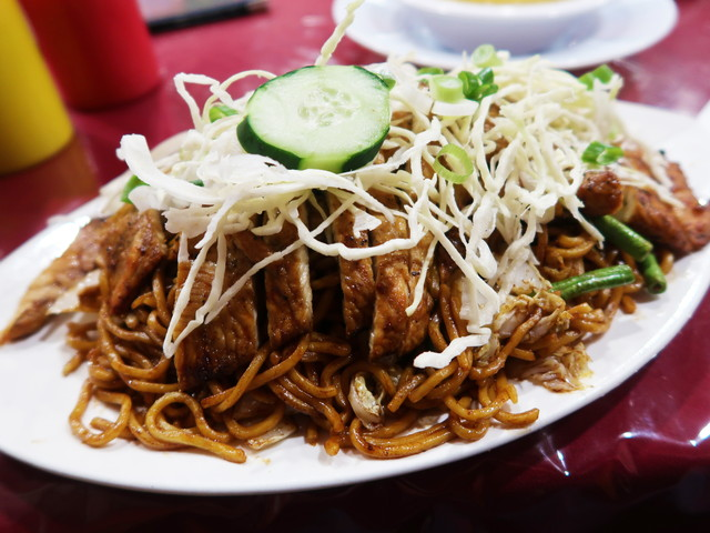Jerk Chicken Chow Mein $10.99