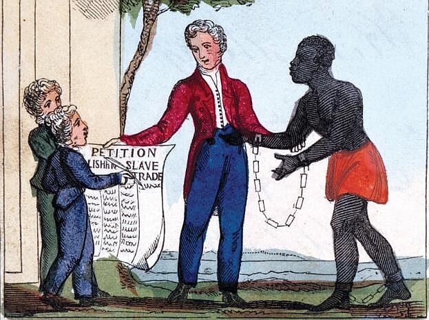 イギリス国内で奴隷制度への批判が