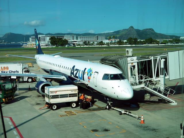 リオのサントス・ドゥモン空港