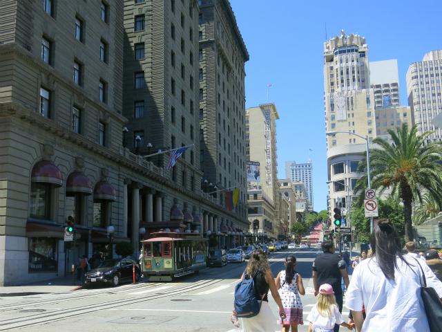 サンフランシスコ、ユニオンスクエア周辺