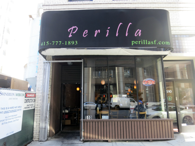 Perilla, Financial District, SF