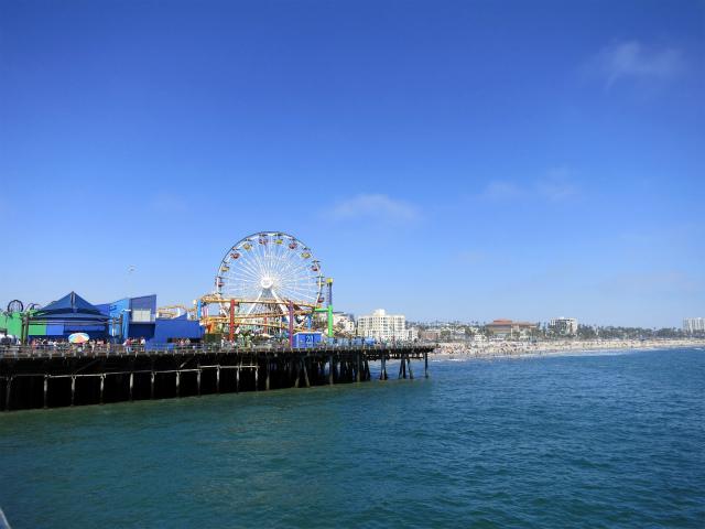 西海岸を代表するビーチ・Santa Monica