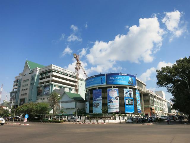 Talat Sao Mall, Vientiane