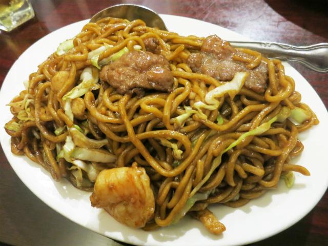 招牌捞麺(Wok Shop Lo Mein) $7.95