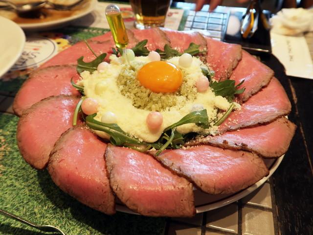 フォトジェ肉!ローストビーフ丼2018