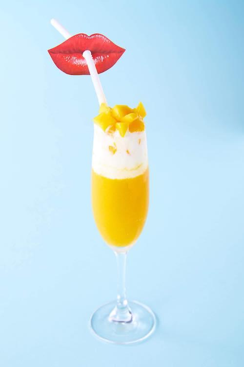 チーズ×マンゴー♡もえきゅんスムージー